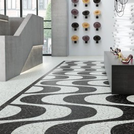 Polyflor Expona Commercial  Stones and Abstracts Arctic Mosaic