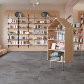 Polyflor Expona Commercial  Stones and Abstracts Industrial Steel