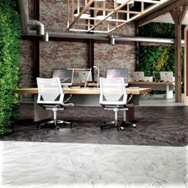 Polyflor Expona Commercial  Stones and Abstracts Liquorice Parchment