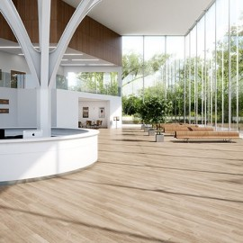 Polyflor Expona Commercial Wood Blonde Limed Oak