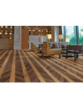 Polyflor Expona Commercial Wood Colour Options: 4112 Tanned chevron parquet